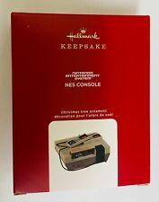 NIB Hallmark Keepsake Nintendo Entertainment System NES Console Ornament