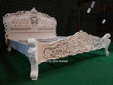 UK STOCK 6' Super King size French Baroque Louis style ..TOP Quality Rococo Bed