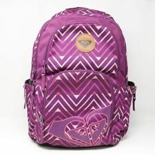 ROXY | Black Berry Chevron Geo Huntress Backpack