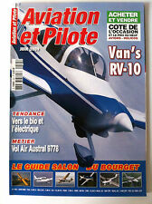 AVIATION & PILOTE n°425 du 06/2009; Van's RV-10/ Guide salon du Bourget/ Bio