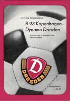 CWC - EC II 82/83 SG Dynamo Dresden - B 93 Kopenhagen, 15.09.1982