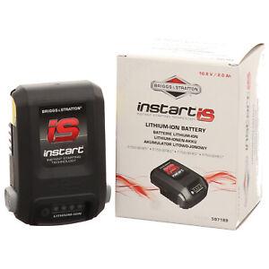 original Briggs Starter Akku Batterie Lithium Ion Instart IS Motoren 775 Sabo