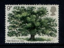 Trees Used Great Britain Commemorative Stamps (1970s)