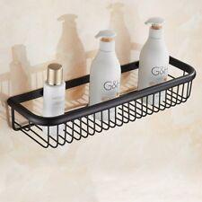 450mm Bathroom Accessory Oil Rubbed Bronze Shower Shelf Caddy Basket Storage