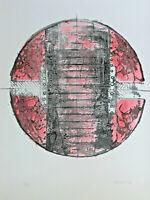 Hawoli Hans-Wolfgang LINGEMANN 1935 - Abstrakte Komposition