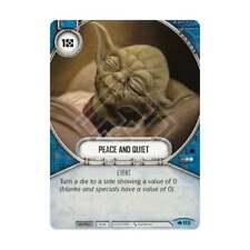 STAR WARS: DESTINY WAY OF THE FORCE * Peace and Quiet