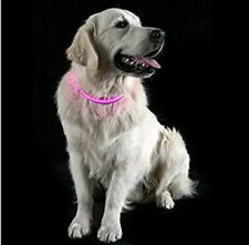 Furhaven XL Pink LED Light Collar For Dogs. Free Shipping