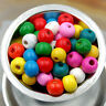 Wholesale 1000pcs  WOOD Round Loose Spacer Charms BEADS 4MM*3MM