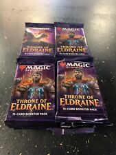 Magic The Gathering - Throne of Eldraine Booster pack lot of 40 Packs