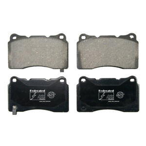 Disc Brake Pad Set-SST Front Federated D1001C