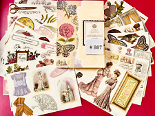 Anna Griffin Retired & Rare All About Her Die Cut Embellishments 132 Pcs + Bonus