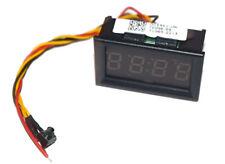 12V/24V Auto Rv Camper Motorcycle Accessory Dashboard Led Display Digital Clock