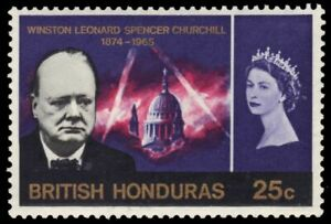 BRITISH HONDURAS 194 (SG229) - Sir Winston Churchill Memorial (pa88024)