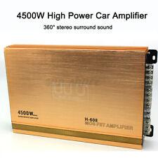 4500W  4 Channel Car Audio Power Stereo Hi-Fi Amplifier Powerful Amp