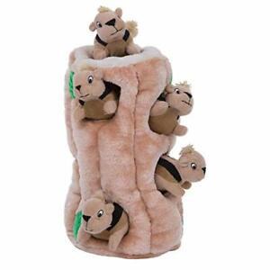 Dog Puzzle Toy - Hide-A-Squirrel Squeaky Puzzle Activity - XL 38 x 18 x 17cm