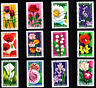 France 2012 Flowers Complete Set of Stamps P Used S/A