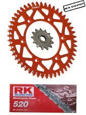 RFX SPROCKETS & RK CHAIN  for KTM SX125 SX150 SX250 SXF250 SXF350 SXF450  98-18