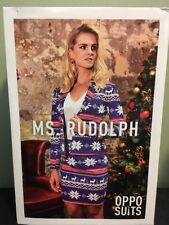 Womens Miss Rudolph Party Suit by OppoSuits Size 10 Christmas