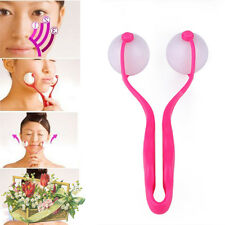 Double Ball Roller Handy Face-lift Facial Massager Neck Chin Slimmer Beauty Tool