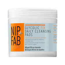 NIP+FAB Glycolic Fix Daily Cleansing Pads 60s - Exfoliating Brightening Peel