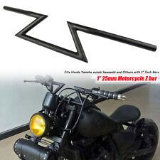 "Universal 1"" 25mm Drag Handlebar Z Bar For Harley Choppers Bobbers Cruiser Metal"