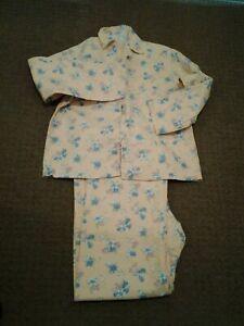 Ladies prettyTrue Vintage brushed cotton pyjamas