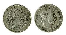 pcc1840_84) Franz Joseph I 1 Korona 1899 AG
