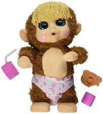Animal Babies Feature Jumping Lil Monkeys Girl Plush Monkey Pal