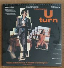 SEALED U TURN Laserdisc #32526 Deluxe  WS Sean Penn Jennifer Lopez Nick Nolte