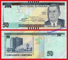 HONDURAS 50 Lempiras 2016 (2018) NEW BACK DESIGN Pick New  SC / UNC