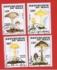 Mali #516-519 VF used Fungi   Free S/H