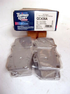 Wagner QC436A ThermoQuiet Ceramic Disc Brake Pads for Toyota 4-Runner + Tacoma