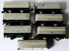 7 O Marx New York Central Passenger Cars (6 Coach #2071; 1 Obs #2072)
