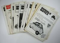 Vtg Micro Bubble Car Journal BMW Isetta Heinkel Kabine Messerschmitt KR200 (15)