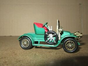 336Q 1963'S Lesney Matchbox No Y2 England Renault Ax 1911 Model Of Yesteryear