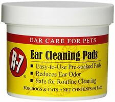 MIRACLE CARE R7 EAR WIPE PAD 90CT CLEANER WAX REDUCES ODOR. FREE SHIP TO THE USA