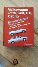 VW  Bentley Sevice Manual Jetta Golf GTI 93-99 Cabrio Hardcover VGC