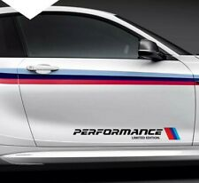 BMW M Performance Side car 2x Sticker Limited Edition Car-Styling Black