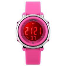 Skmei Girls Pink Digital Watch Water Resistant Stopwatch Alarm Ages 5+ DG1100