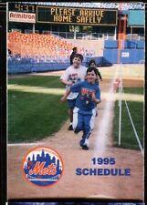 Schedule Baseball New York Mets - 1995 - Metlife Darryl Strawberry