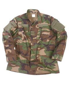 US Feldjacke ACU Nyco R/S woodland, Jacke tarn, Army, Outdoor, Jagd    -NEU-