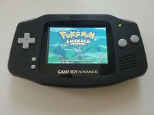 Game boy Advance GBA Console Black backlight AGS 101 - New Glass Lens