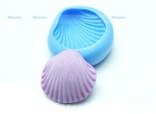 Moule Silicone coquillage - vacances -  fimo, résine, plâtre, porcelaine froide.