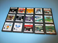 Lot of 15 Nintendo DS Lite DSi XL 3DS 2DS Games