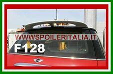 SPOILER ALETTONE BMW MINI COOPER E MINI ONE PRIMA 2007 GREZZO  F128G  SI128-1b