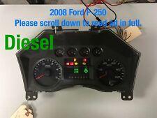 2008 Ford F-250 Speedometer , Diesel, 8C3T-10849GH