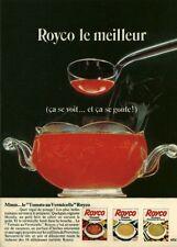 Publicité ancienne alimentation soupe ROYCO