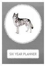 Siberian Husky Dog Show Six Year Planner/Diary by Curiosity Crafts 2017-2022