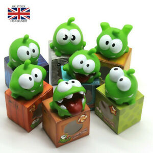 1Pcs Rope Frog Doll Cut The Rope OM NOM Candy Gulping Monster Toy BB Noise