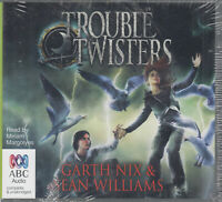Garth Nix Sean Williams Trouble Twisters 7CD Audio Book NEW Unabridged FASTPOST